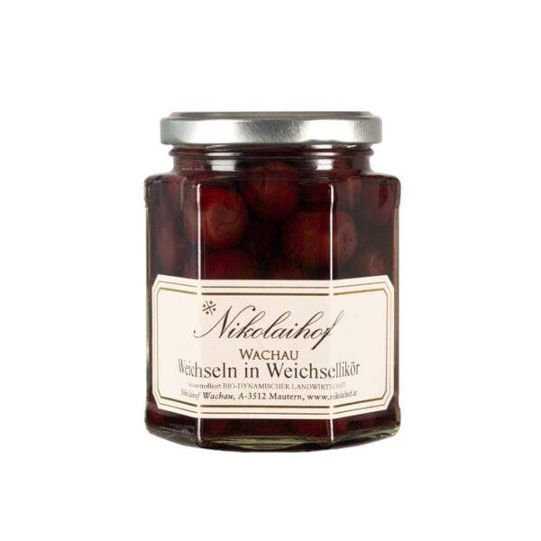 Nikolaihof Sour Cherries in Liqueur 280ml