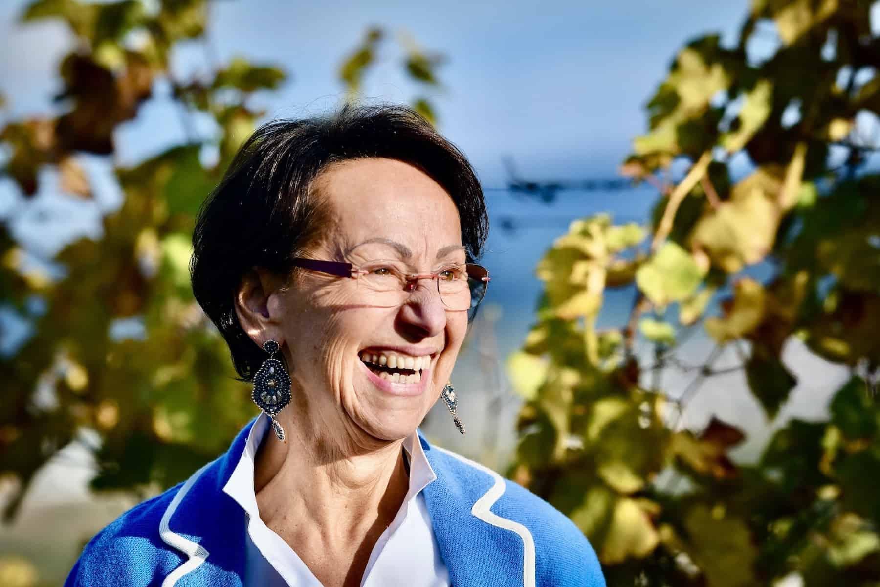 Christine Saahs zum Thema Pigmentflecken